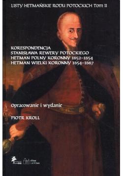 Listy hetmańskie rodu Potockich Tom 2
