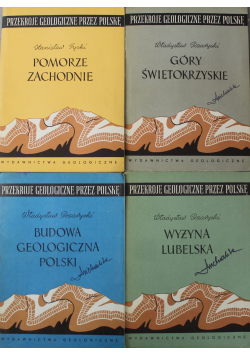 Przekroje geologiczne przez Polskę 4 tomy