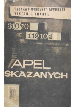 Apel skazanych 2 książki