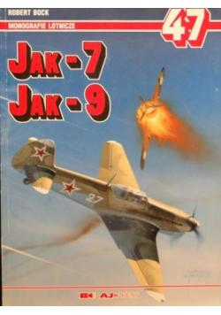 Monografie lotnicze Nr 47 Jak - 7 Jak - 9