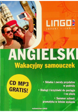 Angielski  Wakacyjny samouczek plus CD