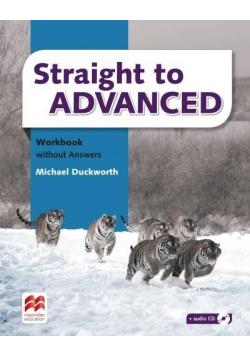 Straight to Advanced WB + CD MACMILLAN