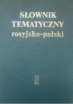 Słownik tematyczny rosyjsko polski