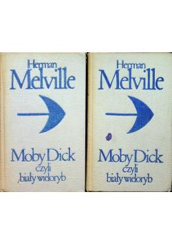 Moby Dick czyli biały wieloryb 2 Tomy