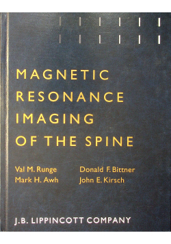 Magnetic resonance imaging of the spine