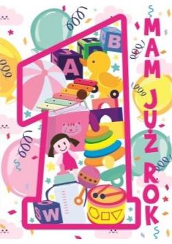 Karnet B6 Roczek (różowa)