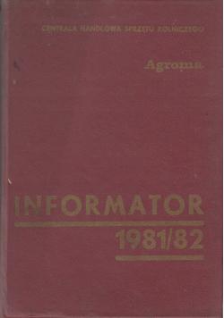 Informator 1981 / 82