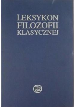 Leksykon filozofii klasycznej