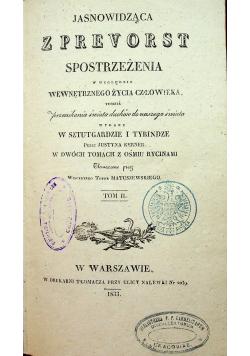 Jasnowidząca z Prevorst tom II 1833 r