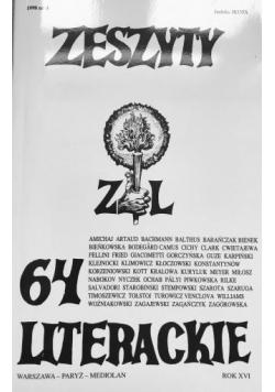 Zeszyty literackie 64 4/1998