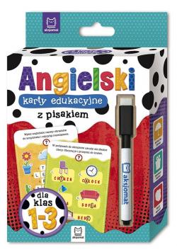 Język angielski klasy 1-3 karty edukacyjne