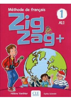 Zig Zag plus 1 A1.1 podręcznik + CD CLE
