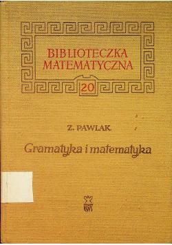 Gramatyka i matematyka