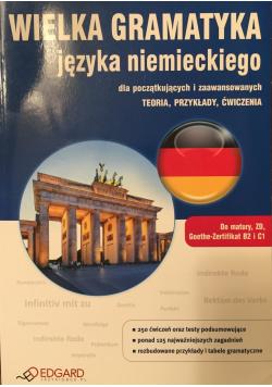 Wielka gramatyka języka niemieckiego dla początkujących i zaawansowanych