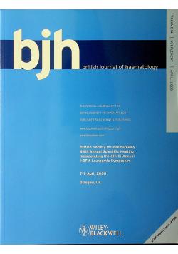 BJH british journal of hematology