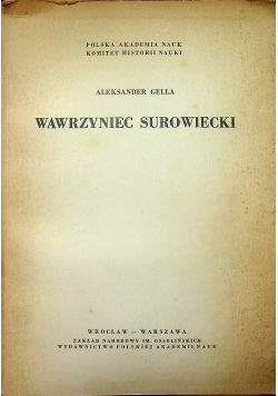 Wawrzyniec Surowiecki