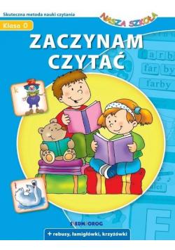 Zaczynam czytać - Nasza szkoła w.2020