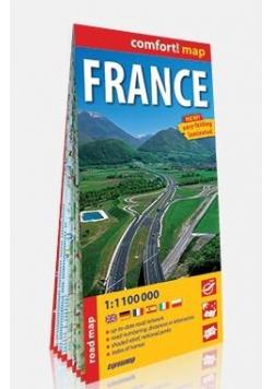 Comfort! map Francja (France) 1:1 100 000 w.2019