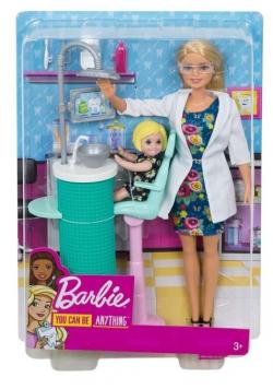 Barbie Kariera. Dentystka z akcesoriami