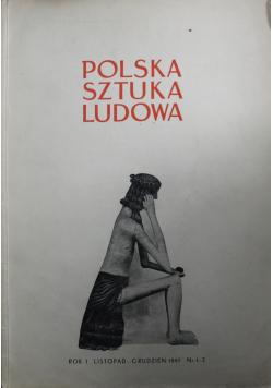 Polska Sztuka Ludowa Nr 1 2 1947 r.