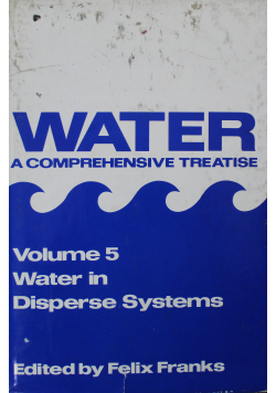 Water a comprehensive treatise Volume 5
