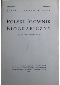 Polski słownik biograficzny tom XXVII Zeszyt 115