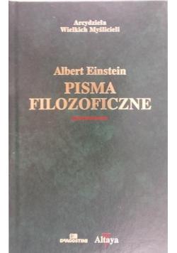 Pisma filozoficzne Einstein