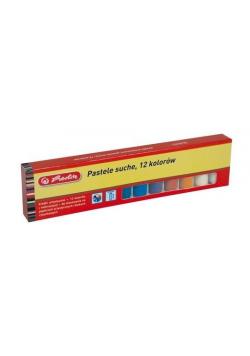 Kredki pastelowe 12 kolorów