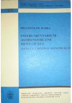 Instrumentarium astronomiczne Heweliusza