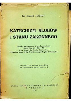 Katechizm ślubów i stanu zakonnego 1930 r