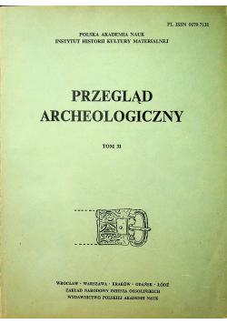 Przegląd archeologiczny Tom 31