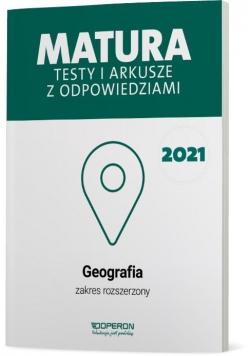 Matura 2021 Geografia. Testy i arkusze ZR OPERON