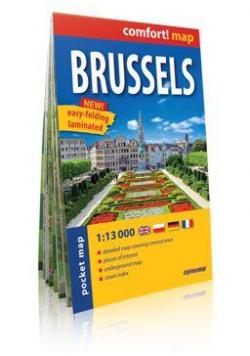 Comfort!map Bruksela 1:13 000 midi plan miasta