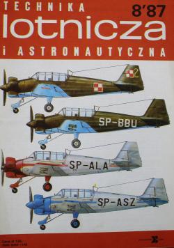 Technika lotnicza i astronautyczna nr 8