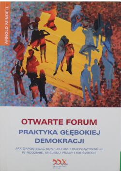 Otwarte forum Praktyka giełdowej demokracji