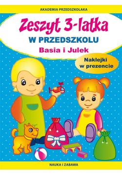 Zeszyt 3-latka W przedszkolu Basia i Julek