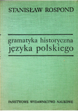 Gramatyka i historia języka polskiego