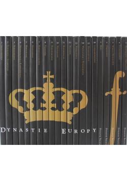 Dynastie Europy / Dynastie Świata 21 tomów