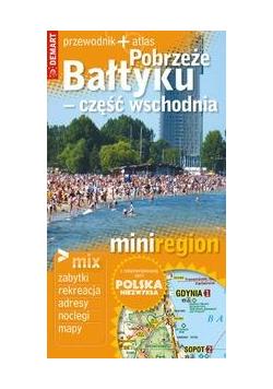 Mini region Pobrzeże Bałtyku przewodnik + atlas