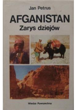 Afganistan zarys dziejów