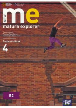 Matura Explorer New Me 4 Students Book