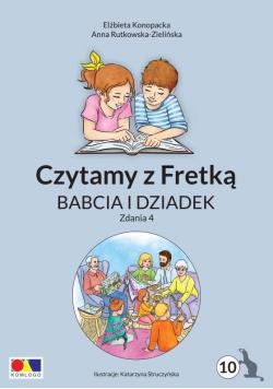 Czytamy z Fretką cz.10 Babcia i dziadek. Zdania 4