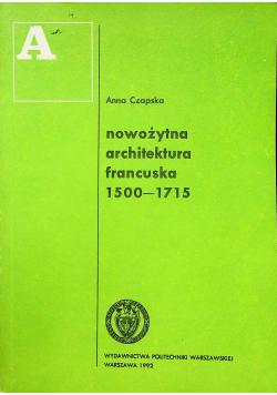 Nowożytna architektura francuska 1500-1715