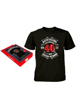 Koszulka dla Niego-40 L