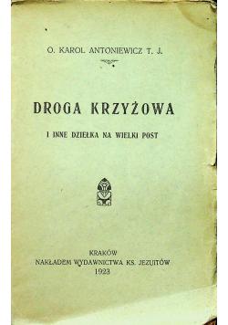 Droga Krzyżowa i inne dziełka na Wielki Post 1923 r.