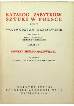 Katalog zabytków sztuki w Polsce Tom X zeszyt 8