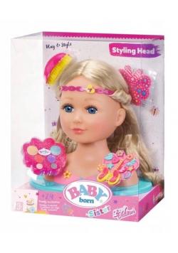 Baby born siostrzyczka-Głowa do stylizacji