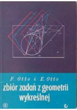 Zbiór zadań z geometrii wykreślnej Część pierwsza plus Zeszyt z anaglifami