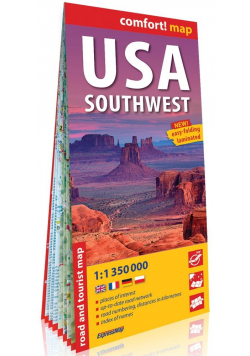 Comfort! map USA Południowo-Zachodnie (Southwest)
