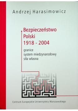 Bezpieczeństwo polski 1918